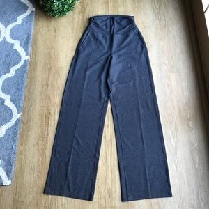 Lululemon Athletica Dark Gray Wide Leg Pants